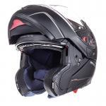 Κράνος Ανοιγόμενο MT Helmets Atom με Εσωτερική Φιμέ Ζελατίνα Μαύρο Ματ MTH000KRA205