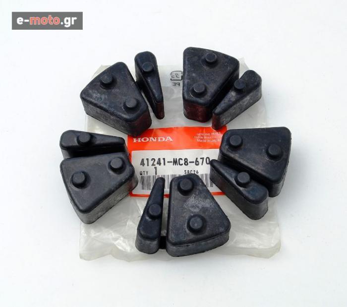 Σετ λάστιχα γραναζιέρας γνήσια HONDA XRV750 1990-2000 41241MC8670_set