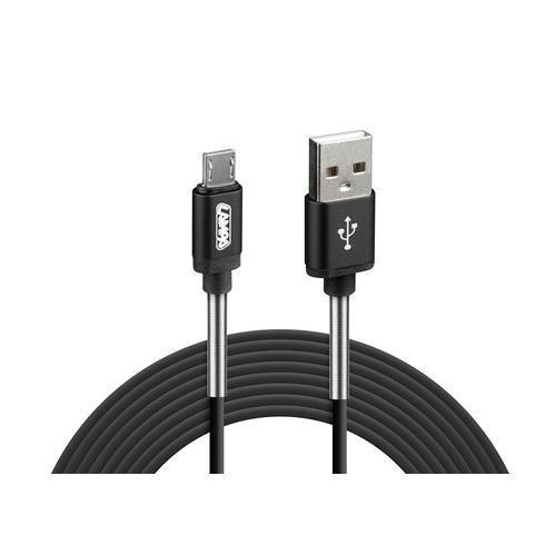 Καλώδιο USB Σε Micro-Usb Lampa 2 Μέτρα Μαύρο 38921 38921