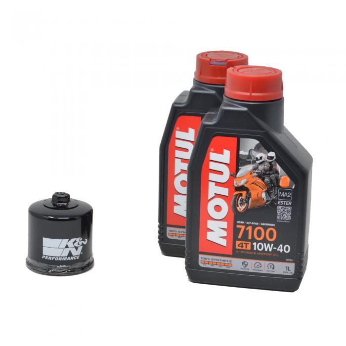 Πακέτο Service MOTUL 7100 10w-40 Με Φίλτρο Λαδιού ΚΝ303 2L Kawasaki Versys 650 2010402L303