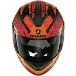 Κράνος Shark Ridill Kengal Matt Black-Orange-Red KOR