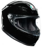 AGV Κράνος K6 Μαύρο Gloss
