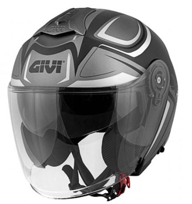 Givi Κράνος H12.3 Stratos SHADE Mat Titan/Black/White