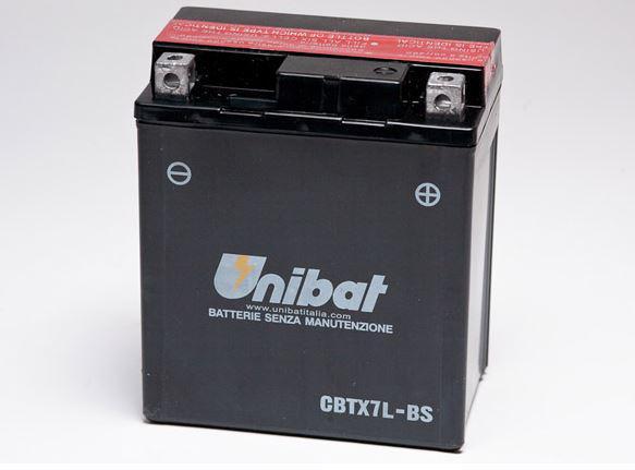 Unibat Μπαταρία YTX7L-BS (CBTX7L-BS)