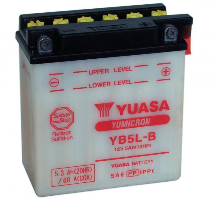 Yuasa Μπαταρία YB5L-B