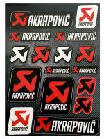 AKRAPOVIC STICKER COLLECTION