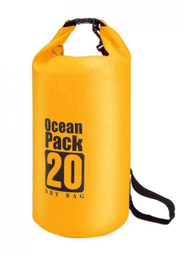 ΑΔΙΑΒΡΟΧΟΣ ΣΑΚΟΣ OCEAN BAG 20L ΜΕ ΛΟΥΡΙ ΩΜΟΥ OB-20