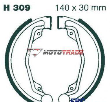 Σιαγωνες Honda CB175 74-76/CB200 76-79 H309 VESRAH