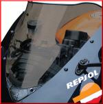 Airblade Ζελατίνα για Honda CBR600RR 07-  Ελαφρώς Φιμέ
