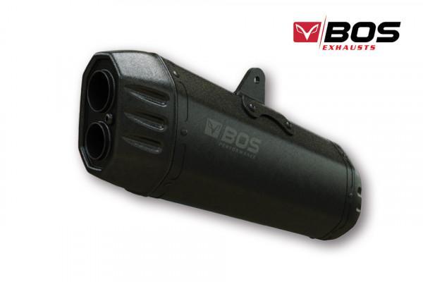 Bos Exhausts Bos Desert Fox τελικό εξάτμισης KTM 1090 2017-, 1290 Super Adventure 2017- (euro4) μαύρη