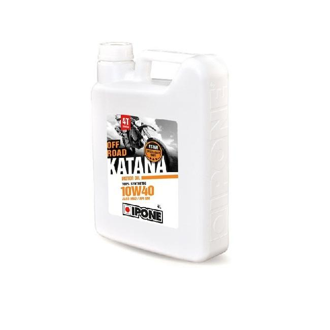 Συνθετικό λάδι κινητήρα Ipone 10W-40 Off Road Katana, 4 λίτρο