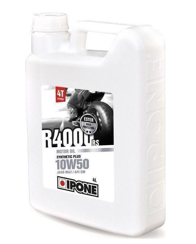 Ημι-συνθετικό λάδι κινητήρα Ipone R4000 RS 10W-50, 4 λίτρο