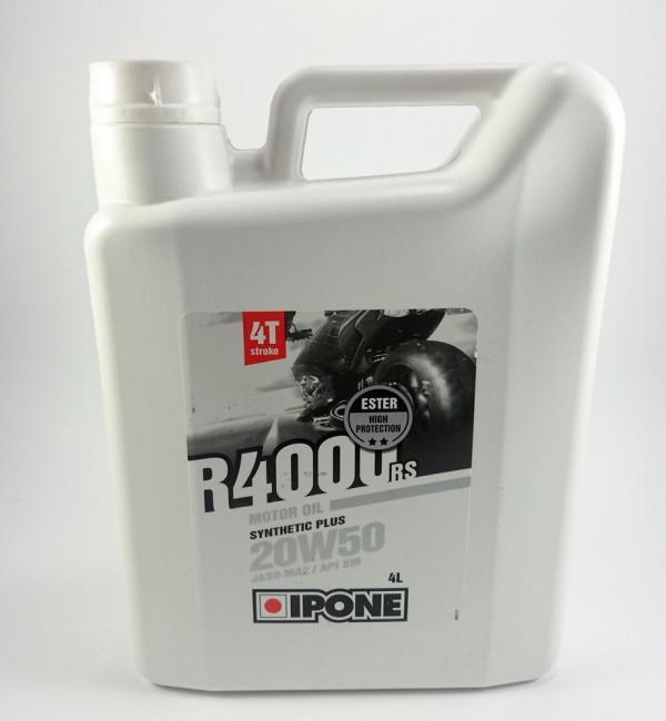 Ημι-συνθετικό λάδι κινητήρα Ipone R4000 RS 20W-50 4 λίτρο