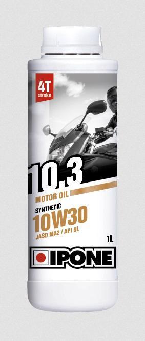 Ημι-συνθετικό λάδι κινητήρα Ipone 10.3 10W-30,1Λίτρο