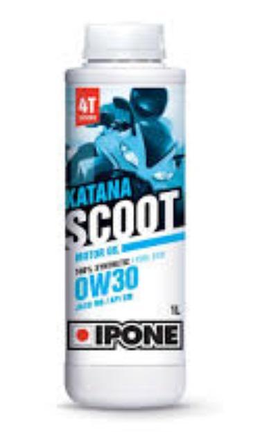 Συνθετικό λάδι κινητήρα Ipone 0W-30 Katana Scoot, 1 λίτρο